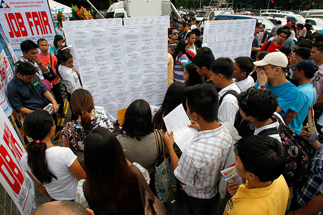 Philippines-Unemployment-Rate-Rose-To-27